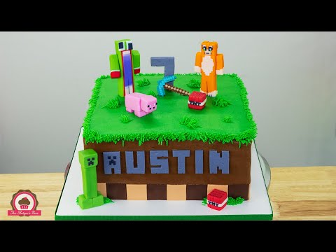 Buttercream Birthday Cake | Minecraft