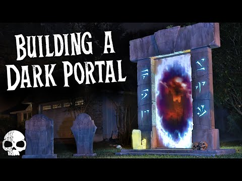 The Dark Portal 💀 Epic DIY Halloween Prop Build
