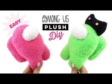 DIY $1 Among Us Crewmate Plushie! Best Budget Gift Idea 2020