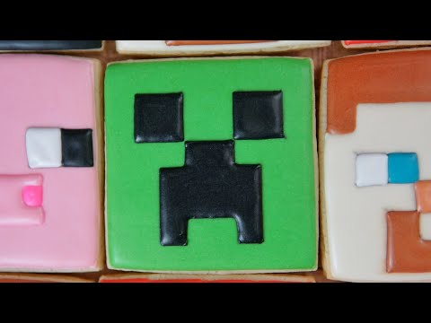 Minecraft Creeper Cookie
