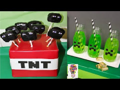 Amazing Minecraft Party Ideas Kids Party Decorations #1
