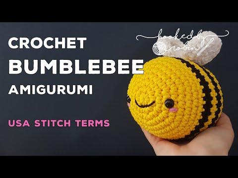 Amigurumi Bumblebee | Crochet Bee Tutorial 🐝
