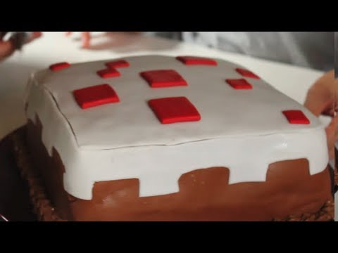 MINECRAFT CAKE How To! | Feast of Fiction