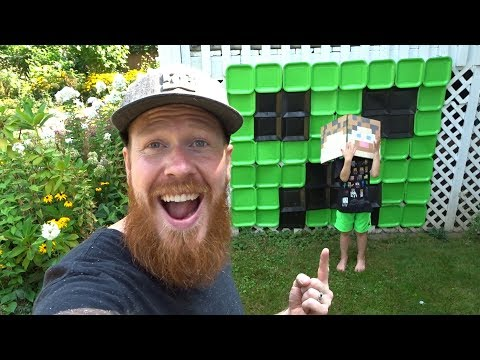 DIY Minecraft Themed Birthday Party