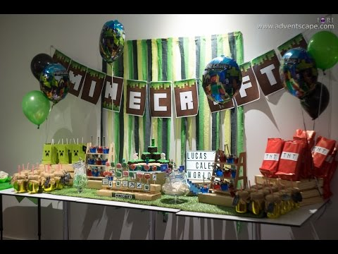 Caleb Lucas Minecraft Birthdy Party