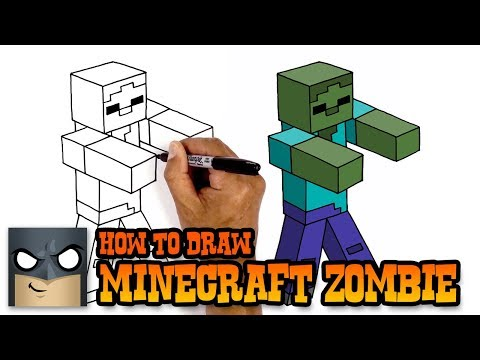 How to Draw Zombie | Minecraft (Art Tutorial)