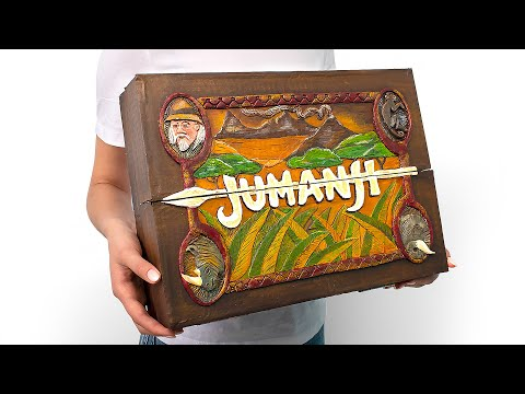 Jumanji Cardboard Game In REAL LIFE!
