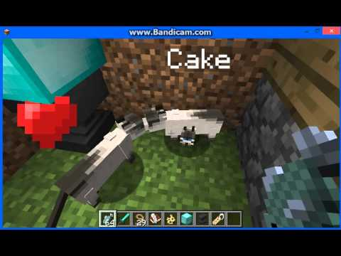 Minecraft   ''how to tame a cat part 1''