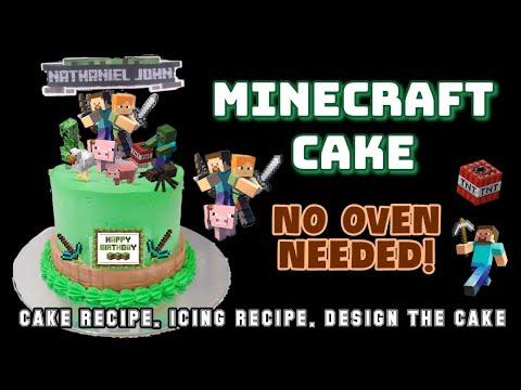 MINECRAFT CAKE | BAKE OR STEAM
