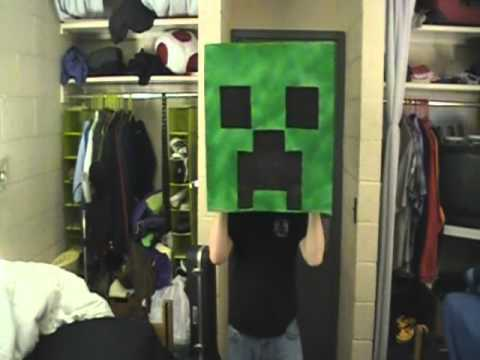 Creeper Costume for Youmacon 2011 (Making Of) – Minecraft