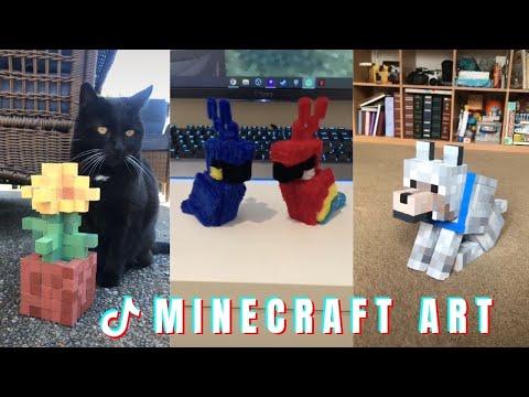 MINECRAFT ART � Tik Tok Compilation