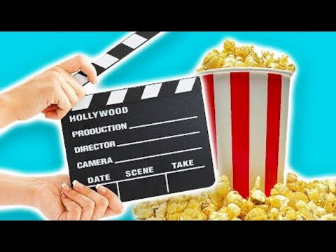 3 DIY Movie Night Party Ideas