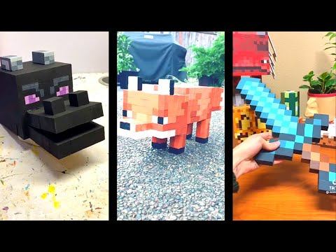 Minecraft Art TikTok Compilation 🔥