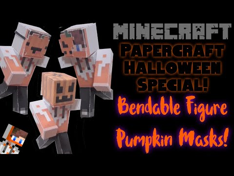 How 2 Make Halloween Masks for Your Bendable Figure!