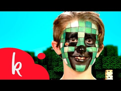 Maquillaje de Creeper (Minecraft) | Paso a paso | Makeup Tutorial