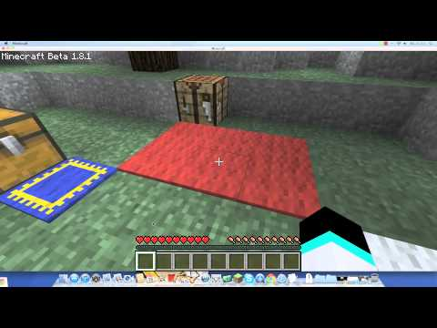 minecraft Rugs Mod (1.8.1) (mac/windows)