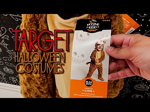 Target Halloween costumes 2019 • SNEEK PEAK • just getting started