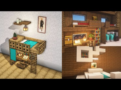 Minecraft | 6 Bed Designs and Ideas