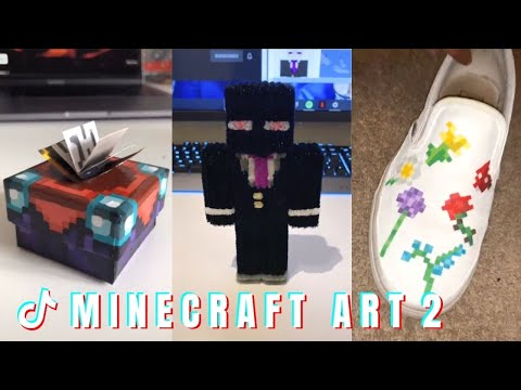 MINECRAFT ART ~Part 2~ ⛏⛏⛏