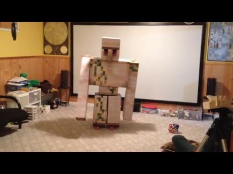 Iron Golem Costume Project – Enhanced Version
