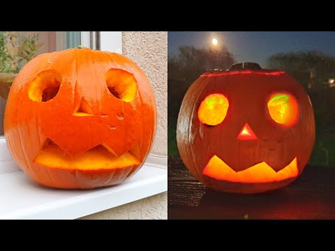 How to Carve HALLOWEEN PUMPKIN Under 10 Minutes 2020 – Happy Halloween