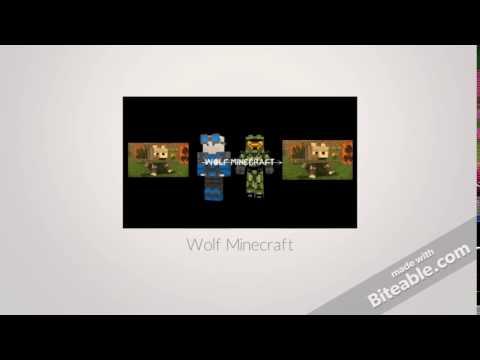 Wolf Minecraft Intro