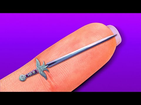 SHARP MINI SWORD, Knife, Scissors