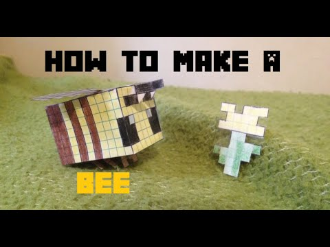 How to make a Minecraft Bee