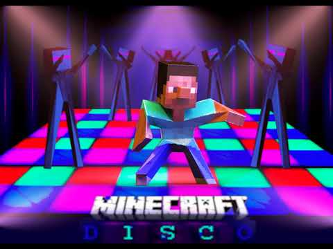 Minecraft Party. Stive and Enderman Hip-Hop.