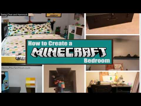 Minecraft Room Decor In Real Life