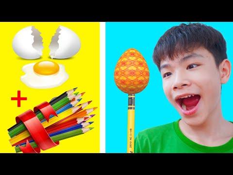 Effectual DIY Pencil! Useful Diy Cocacola VS DIY Pencil For School Supplies | HCN Go School