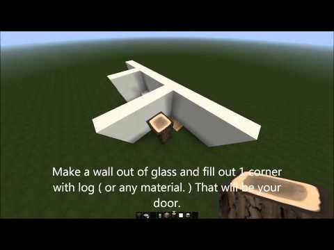 Minecraft | Bathroom Furniture | Tutorial | 1.7.2