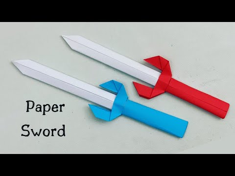 How To Make Easy Paper Sword Toy  For Kids / Nursery Craft Ideas / Paper Craft Easy / KIDS crafts