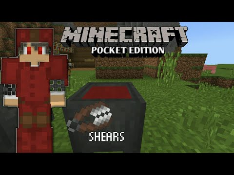 ✔HOW TO ADD ⭕COLOR TO LETHER ARMOR AND ✔HOW TO USE SHEARS |MINECRAFT PE|#Tagalog
