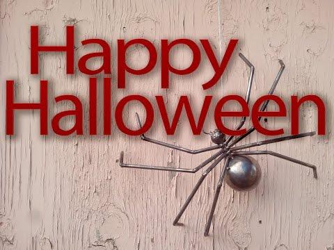 Do-It-Yourself Halloween Decorations Welded