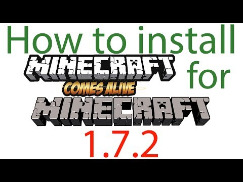 Minecraft 1.7.2/1.9 – How to install Minecraft Comes Alive Mod (OUTDATED)