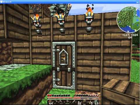 обустраиваем дом в Minecraft – день 2