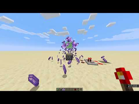 How To Get Infinite Amethyst In Minecraft 1.17 (20w45a) 64 per second (patched)