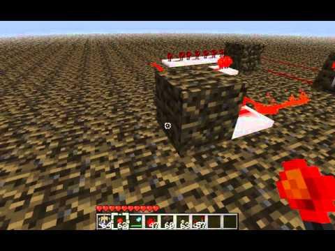 DIY In Minecraft- Delayed Redstone Circuit