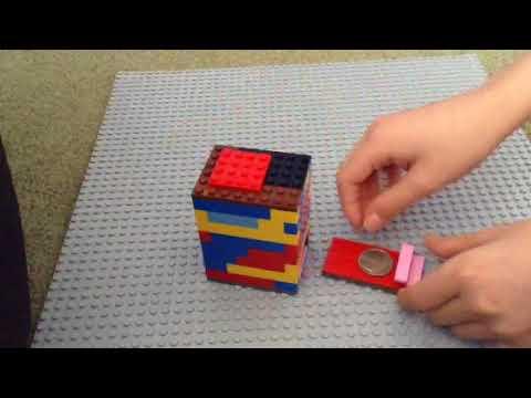 How to make a mini Lego bank (TUTORIAL) pr.#2