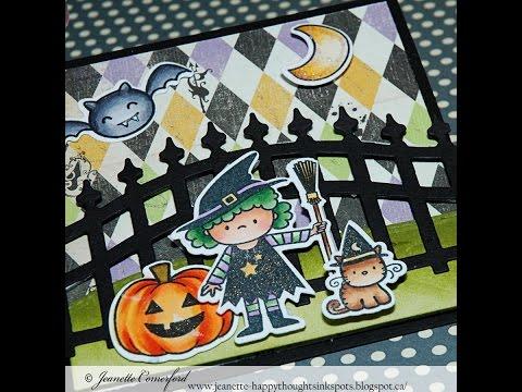 Mini Halloween Card Series #3 L'il Witch