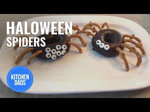 Halloween Spider Treats| Halloween Treats for Kids | Kitchen Dads Cooking