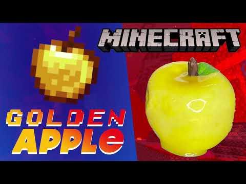 How to make Golden Apple from MINECRAFT – Golden Apple DIY