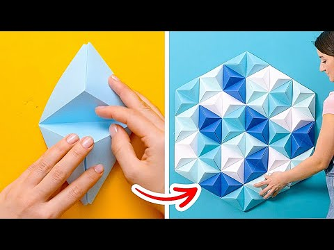 Creative PAPER CRAFTS to Make Your Home Cozier || Easy Paper Recycling Projects by 5-Minute DECOR!