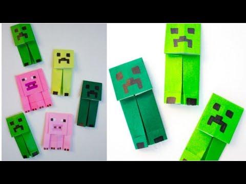 MINECRAFT CREEPER | DIY FUN MINECRAFT IDEAS | #shorts