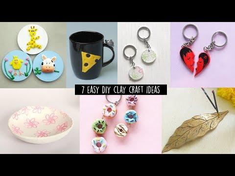 7 Easy DIY Clay Craft Ideas