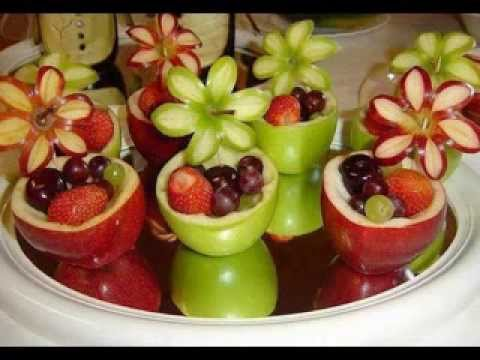 DIY food decorations for kids birthday party