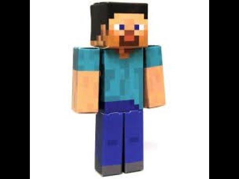 How to make Minecraft Papercraft Steve