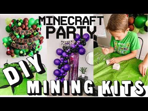 Minecraft Party DIY
