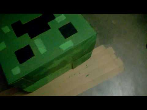 The Creeper Costume is Almost Done!!!